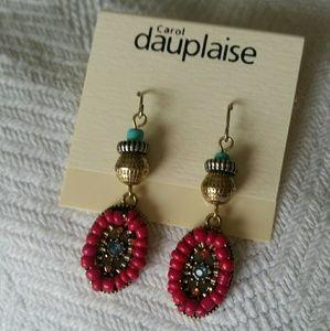 Carol Dauplaise Colorful Earrings
